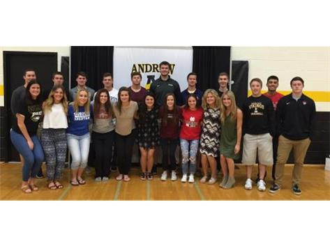 College Signees 2016