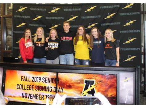 Fall 2019 College Signing Day