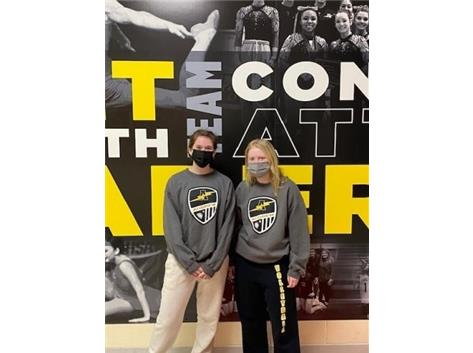 Torey Mondragon & Sara Krueger - March 2021 Athletes of the Month