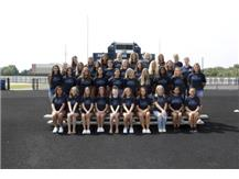 Girls Swimming Team Picture 21-22