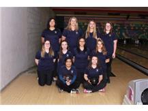 Girls Bowling Team 2018-19