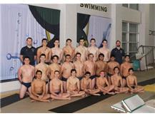 Boys Swim Team Co-Op 2018-19