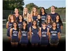 Girls Varsity Tennis Team 2020-2021