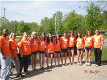 Girls Track and Field going to State - 2011