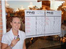 Sam was the overall individual medalist at the West Chicago Invite at St. Andrews Golf Course yesterday with a 40.