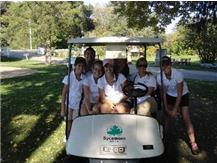 Girls Golf at IHSA Regionals
