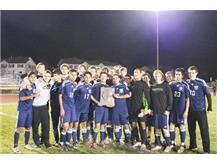 Bartlett Soccer claims the Regional Championship by defeating top seeded Larkin, 2-1.