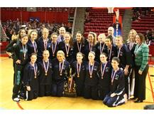 2012 Girls Basketball team wins 3rd Place in State!  Way to go Hawks!