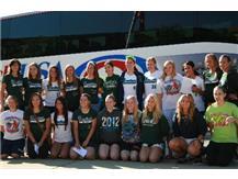 Girls Softball leaving for the State meet, Go Hawks!