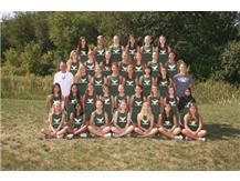 Girls Cross Country Team