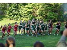 Girls Cross Country meet at the Elgin Invite at Lord's Park