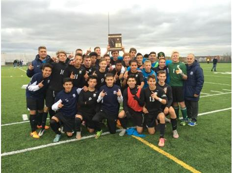 2015 Boys Soccer Sectional Champs!