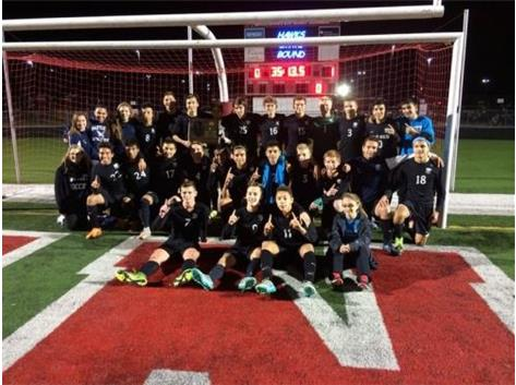 2015 Boys Soccer Super-Sectional Champs