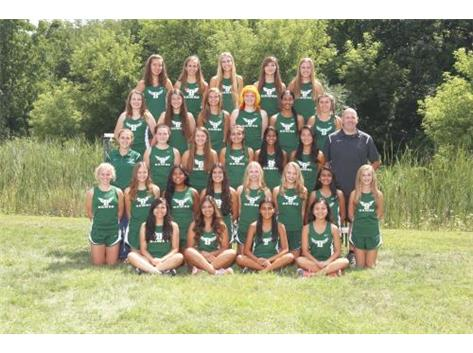 Girls Cross Country Team 2016-17