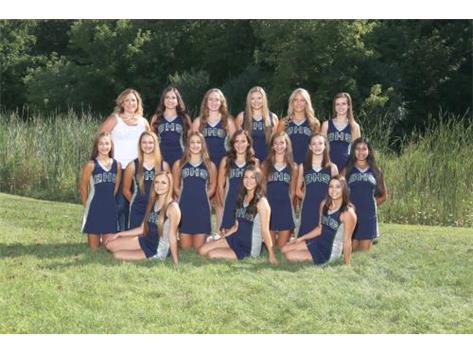 Fall Sideline Dance Team 2016-17