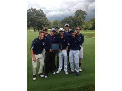 UEC Champs 2016 B.Golf Varsity