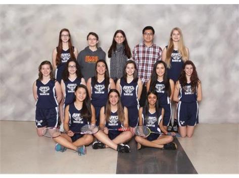 Girls Varsity Badminton 2016-2017