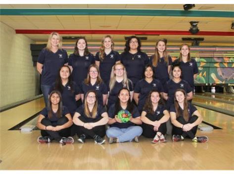 Girls Bowling Team 2017-2018