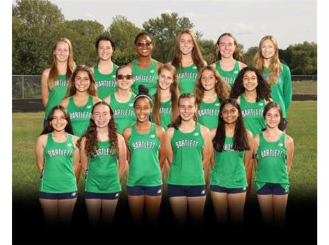 Girls Cross Country Team 2020-2021
