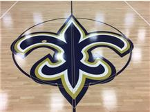 Saints have first match on new gym floor