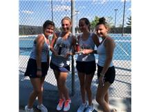 JV Tennis wins 1st at the East Peoria Invite