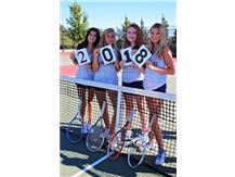 Girls' Tennis Seniors!