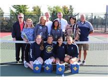 Senior Night for Girls' Tennis