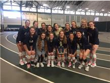 Varsity Volleyball place 3rd at the first Holiday Inn Express West Saints Fall Classic Tournament.
