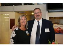 Coach Debbie Coffman (with her husband) being honored at the 18th Annual National Youth Sports Awards & Benefit. Congratulations Debbie!