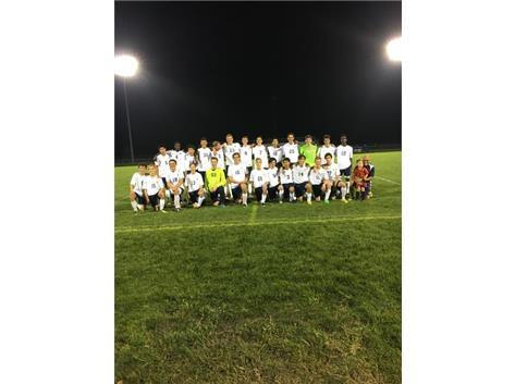 Boys Soccer at Hundman Field