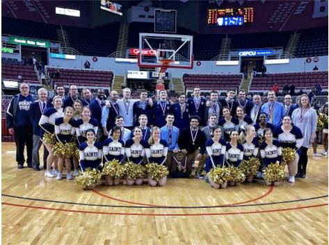Saints capture third place at the State Tournament!