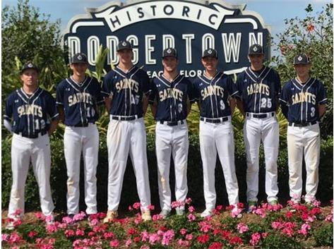 Baseball players in Vero Beach