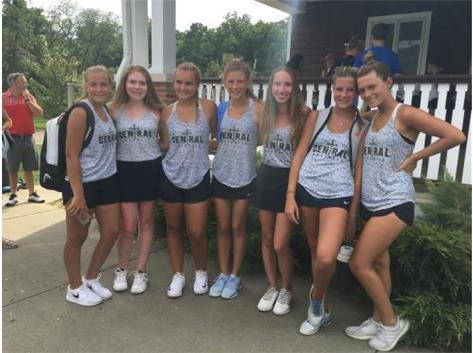 Saints take First Place in the Sacred Heart Invitational