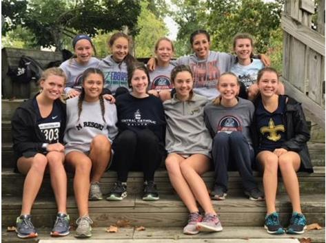 Midwest Catholic Cross Country Championships in Dayton, OH