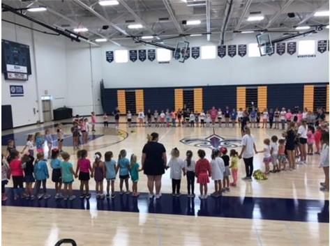 Future Saints Cheer Camp