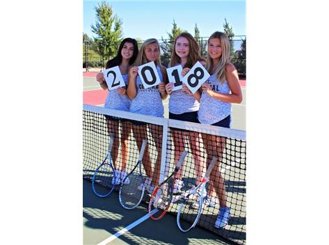 Girls' Tennis Seniors!