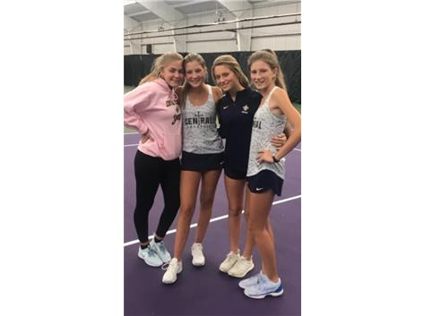 Doubles Teams advance to State in Girls' Tennis!