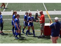 3rd Place Trophy Presentation