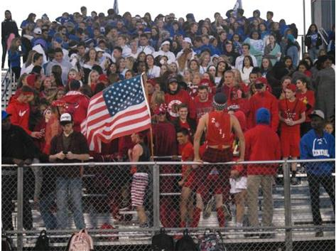Central vs Hampshire: Red-White-Blue night.