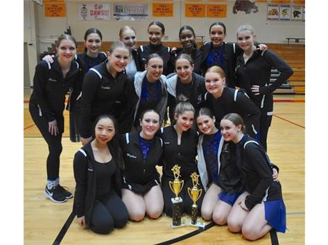 1st Place Lyrical and 2nd Place Hip Hop  Place at Batavia Competition