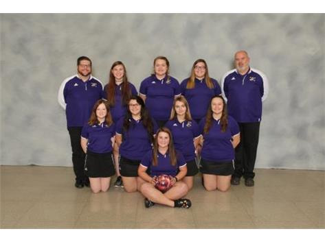 Top Row: Coach Andy Werhane, Holley Steelberg, Elyce Turnipseed, Adriana Anderson, Coach Chris Carter Middle Row: Hannah Whidby, Hannah Lowery, Christina Simon, Lexy Sherman Front Row: Hailey Carter