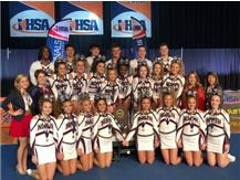 3-Peat State Champion Co-ed Varsity Competitive Cheer Team