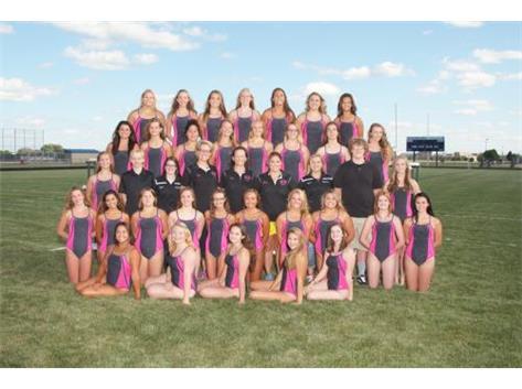 2015 Girls Co-op Swimming