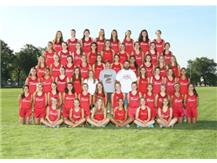 2015-2016 Girls Cross Country Team
