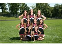 2015 - 2016 JV Cheerleaders