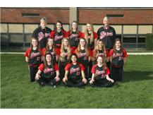 2015 - 2016 Girls Varsity Softball Team