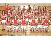 2016 Girls Varsity Tennis Team