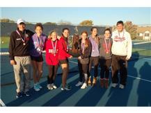 2016 Class 1A Girls Tennis State Champions: Coach Brad Pihl, Pauline Neubert, Caroline Arnold, Katie Telford, Kate Piazza,Lauren Immink, Trinity Marshall, Coach Hand