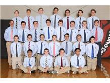 2016-2017 Boys Swim Team Varsity and JV Redwings