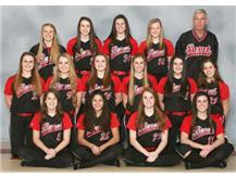 2016 -2017 Girls Varsity Softball Team